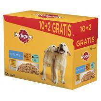 kapsičky pro psy - Junior s drůb.,hov. a jeh. masem a rýží v želé 12x100g