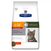 - Feline c/d Urinary stress+Metabolic 1,5kg