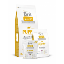- Care Dog Puppy Lamb+Rice  1kg