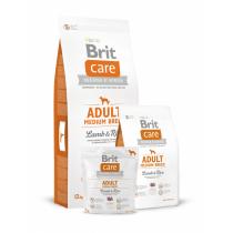 - Care dog Adult Medium breed Lamb & Rice  1kg