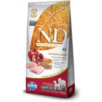 - N&D Low Grain DOG Light M/L Chicken&Pomegranate 12kg