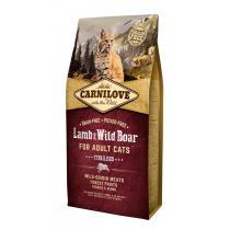 - Carnilove Cat Lamb&Wild Boar Adult 6kg