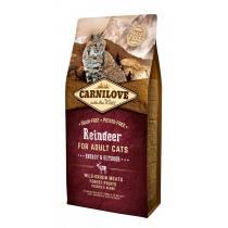 - Carnilove Cat Reindeer for Adult 6kg