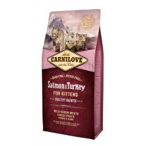 - Carnilove Cat Salmon&Turkey for Kittens 400g