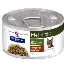 - PD Feline Stew Metabolic konz.Chicken+Vegetable 82g