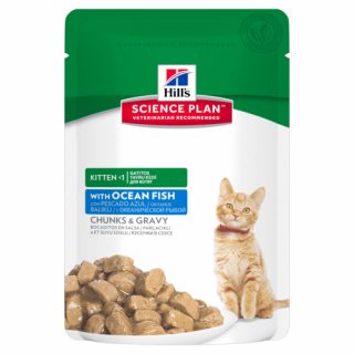 - Kitten kaps.CH+Fish -Multipack 12 x 85 g