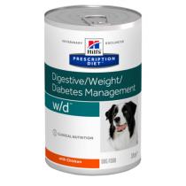 - Canine W/D konzerva 370g 9+3 zdarma