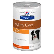 - 4 konzervy Hill's canine K/D 370g v hodnotě 236,-Kč ZDARMA
