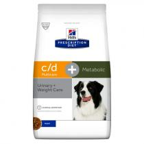 - PD Canine c/d Urinary+Metabolic 2kg
