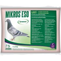 Krmné doplňky - ESO GRIT s jodem pro poštovní holuby 3kg