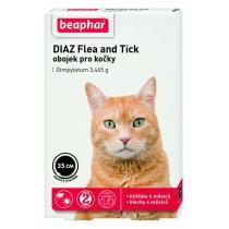 antiparazitika - obojek antiparazitární pro kočky DIAZ 35cm