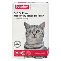 antiparazitika - obojek antiparazitární pro kočky S.O.S.35cm