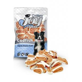 pamlsky pro psy - Joy Chicken+Cod Sushi 80g